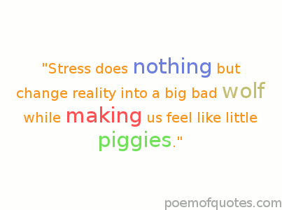 The secret to managing stress better